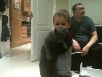 1 февраля 2012 года Максик улетел в Дублин к Татьяне :)