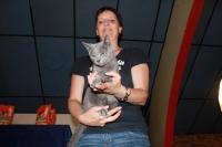 08.07.2012. Грандиозная победа нашего котенка в Бельгии :)